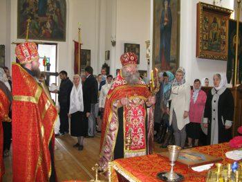 Пасхальное Богослужение в Понедельник Светлой седмицы, Александровск, 2.05.2016
