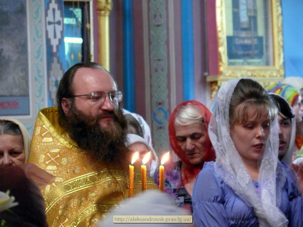 Молебен в Свято-Вознесенском храме, 17.12.2013