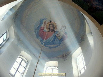 Купол Свято-Вознесенского собора