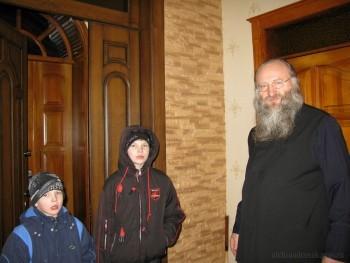 Святой вечер накануне Рождества в Александровске