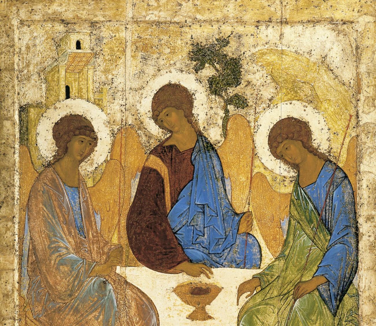 Троица. Около 1411, Андрей Рублёв