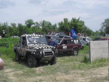 Соревнования-гонки на джипах