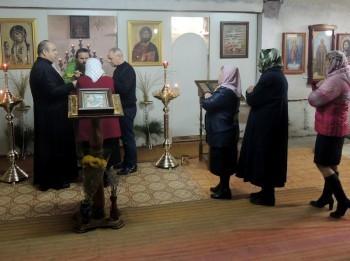 Причастие в праздник Входа Господня во Иерусалим
