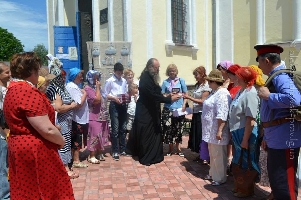 Престольный праздник в Свято-Вознесенском храме, 13.06.2013
