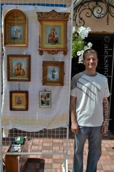 Выставка народных мастеров клуба «Левша»