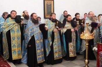 Встреча Иерусалимской иконы Божией Матери, г.Луганск, 03.12.2015