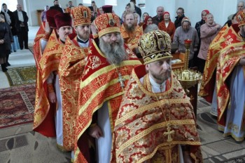 Божественная литургия Архиерейским чинов в монастыре с.Хорошее
