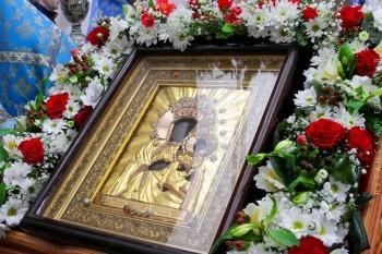 """вание в честь иконы Божией Матери """"Ченстоховской"""" в с.Хорошее"""