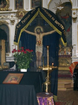 Великий пост в Свято-Вознесенском храме, г.Александровск