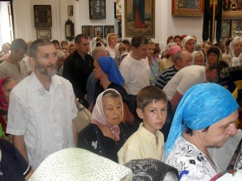Праздник Успения Пресвятой Богородицы в Александровске
