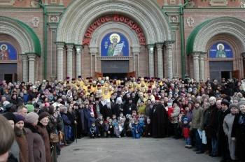 В день освящения Владимирского Собора, г.Луганск