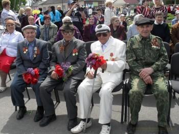 Праздник Победы в Александровске, 8.05.2015