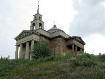 Свято-Благовещенский храм, с. Веселая Гора