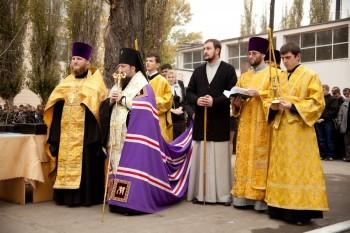 Освящение храма-часовни прп. Алексия человека Божия, г.Луганск