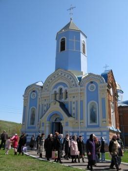 Свято-Троицкий храм, г. Зимогорье, Славяносербский район, Луганская область